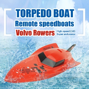3312 Volvo Rower 2.4G Remote Control RC Racing Boat High Speed - Red
