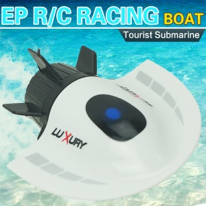 3314 RC Submarine Mini 27MHz / 40MHz 4CH High Speed Electric Radio Remote Control Submersible Boat - White
