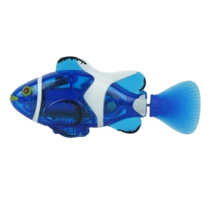 3316 Mini Clown Fish Remote Control Fish Boat RC Chargeable Fish Toy - Blue