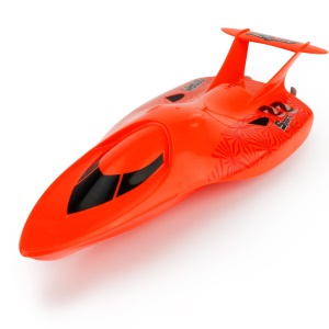 3322 2.4GHz 4CH High Speed Remote Control Racing Boat Toy for Children - Red