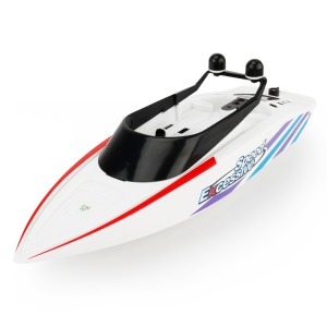 3323 RC Racing Boat 2.4G 4CH High Speed Remote Control Boat Electric Speedboat - White