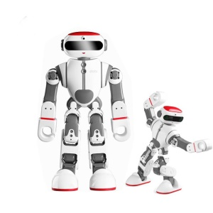 WLTOYS Dobi Intelligent RC Robot Humanoid Voice Control Toy with 17 Digital Servos - EU Plug