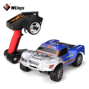 WLTOYS A969-B 1:18 70km/h 4-Wheel-Drive RC Car Short Course Truck Kids Toy - EU Plug