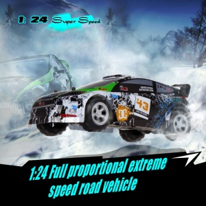 WLTOYS A989 1:24 25km/h 2.4G Super Speed RC Car Toy for Kids - Crackle Pattern