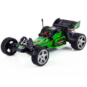 WLTOYS L959 2.4G 1:12 Scale Off-road Remote Control RC Racing Car 2WD 40KM/H - Green