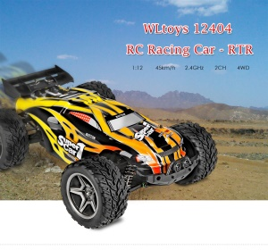 WLTOYS 12404 1:12 Electric 4WD RC Racing Car 2CH 2.4G RC Crawler 45KM/H