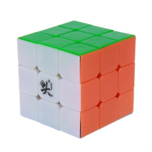 DAYAN ZhanChi 3x3x3 6-Color Stickerless Speed Cube 42mm