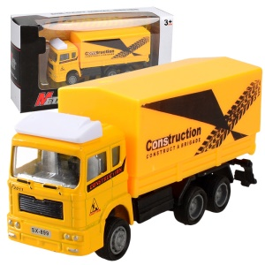 Inertia Engineering Truck 1:72 Scale Pull Back Truck Car Model for Kids - Lorry