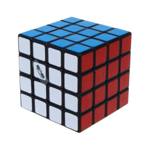 QIYI Mo Fang Ge Qihang Magic Cube 4x4x4 Speed Cube Puzzle - Black Background