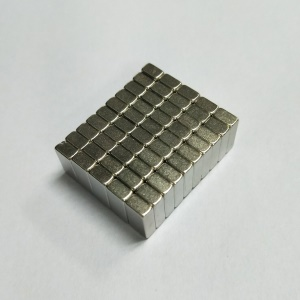 50Pcs/Set Rectangle Super Strong DIY NdFeB Magnet for Industrial Medical Equipment, Size: 10x5x3mm
