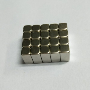 20Pcs/Set Rectangle Powerful DIY NdFeB Magnet for Industrial Medical Equipment, Size: 10x5x5mm