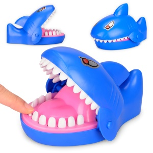 Shark Shape Funny Trick Toy Bite Finger Game Funny Lucky Game Gadget