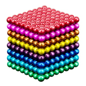 512Pcs Colorful Magnetic Ball Building Block Creative Magnet Toy Puzzle 5mm Office Decoration Balls