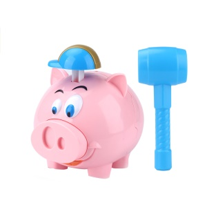 Explode Pig Piggy Bank Collect Cash Coin Money Box Toy