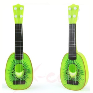 Funny Fruit Design 4-String Ukulele Can Play Musical Instrument Educational  Toy - Kiwi Fruit
