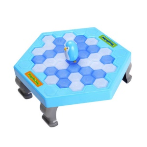 Save Penguin Ice Breaking Puzzle Table Games Balance Ice Cube Desktop Toy