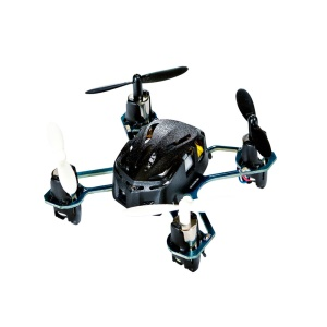 HUBSAN H111 Nano Mini 4-Channel RC Quadcopter with 2.4Ghz Radio System - Black