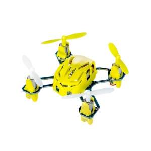 HUBSAN H111 Nano Mini 4-Channel RC Quadcopter with 2.4Ghz Radio System - Yellow