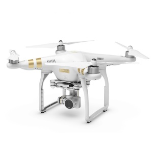 DJI Phantom 3 Professional Quadcopter 4K UHD Video Camera Drone with Battery