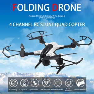SONGYANG TOYS SYX33 Foldable 2.4GHz 6-axis Gyro 0.3MP Headless Mode Drone Remote Control Quadcopter