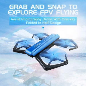 JJRC H43WH Folded 6 Axis Mini Drone WIFI FPV HD 720P Camera RC Quadcopter with Altitude Hold - Blue