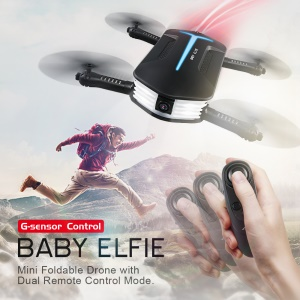BABY ELFIE JJRC H37 Mini Baby Elfie RC Quadcopter - Black