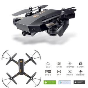 XS809 4CH WiFi Camera Headless Mode FPV Quadcopter RC Helicopter Drone Remote Control Toy