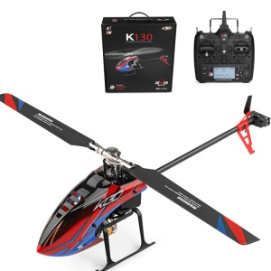 WLTOYS K130 6 Channel 6-Gyro and 3-Gyro 2.4GHz RC Helicopter