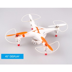 CHEERSON CX-30S 2.4GHz 4CH 6 Axis RC Quadcopter with 5.8G FPV Real-time Transmission 0.3MP Camera - Orange