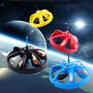 LED Sensor Flying Saucer UFO Hand Induced Hovering Floating Flight Toy for Kids