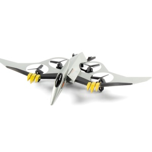 JXD 511 Flying Bird Pterosaur 6-Axis Gyro Drone FPV RC Quadcopter - Silver Color
