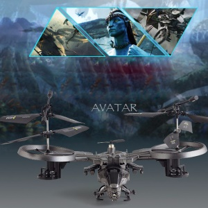 ATTOP YD718 Avatar Licensed 2.4G 4CH RC Quadcopter Infrared Remote Control Helicopter Toy