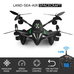 WLTOYS Q353 3-in-1-Land-See-Luft 2.4 G RC Quadcopter - Green