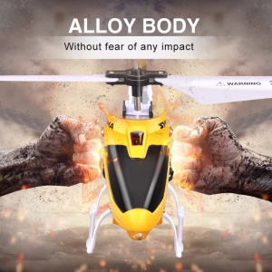 SYMA W25 Mini USB Charging 2.4GHz Shatter-proof Drop-proof RC Helicopter - Yellow