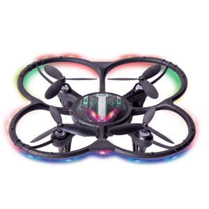 YH-13HW 720P Camera WiFi FPV RC Drone 2.4G 4CH 6-Axis Gyro RC Quadcopter with LED Light - Black