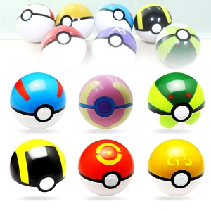 9PCS 7cm Pokemon Go Pokeball Poke Balls Cosplay Toys Collections
