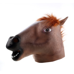 Animal Horse Head Mask Halloween Cosplay Costume Party Prop