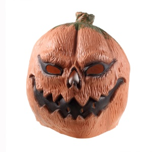 Pumpkin Latex Mask Adult Halloween Cosplay Costume Party Prop