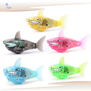 Electronic Fish Swimming Toy Baby Bath Toy Kids Children Gift - Shark