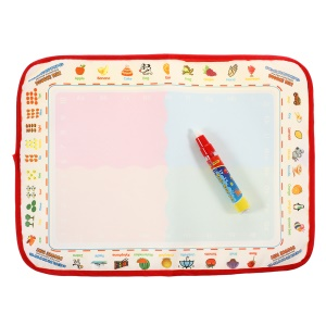 COOLPLAY Fruit Pattern Children Water Drawing Mat Board  stylo magique