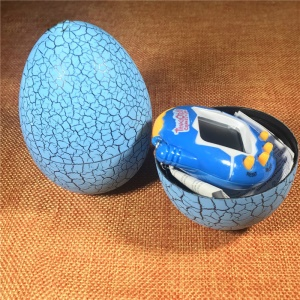 Funny Dinosaur Egg Digital Pet Electronic Virtual Pet Game - Blue