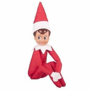 Cute Christmas Elf Toy Doll on the Shelf Plush Doll Christmas Toy - White Skin Boy / Red