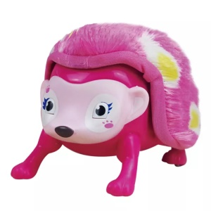 Electronic Pet Interactive Hedgehog with Lights Sounds and Sensors - Pink