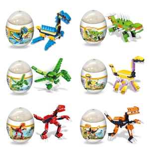 Creative Dinosaurs Egg Puzzle Model Toy for Kids