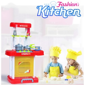 Kids Kitchen Cookware Toys Cookware Pretend Role Play Toys Set
