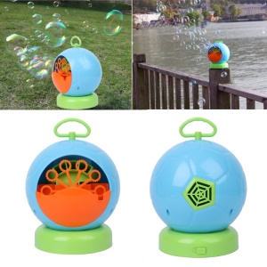 Bubble Machine Automatic Bubble Maker Football Shape Bubble Machine for Kids