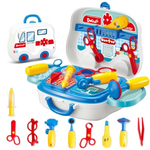 Educational Medical box Toy Play Set for Kids Children