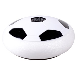 Indoor Suspension Football LED Light-Up Air Power Soccer Disk Toy