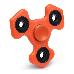 XOSOY Hand Spinner Fidget Gyro Toy Finger Tri Spinner EDC Toy - Orange