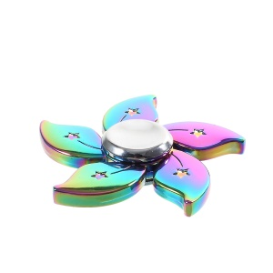 Bauhinia Flower Pattern EDC Focus Toy Spinner Fidget Toy Hand Spinner